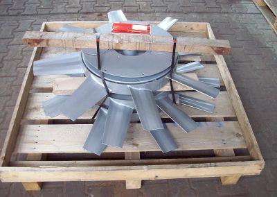 Rotore für Axialventilatore