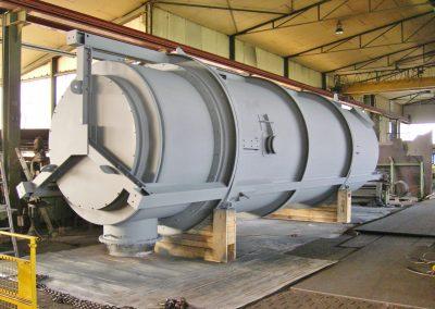 Außenmantel für Wärmetauscher