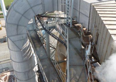 Kanal für Trocknerabluft - Ersetzt in Edelstahl